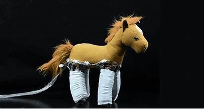 Soft Skin Robots Horse Power Robot Inanimate