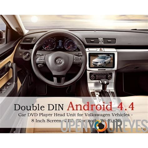 doppel din android doppel din android 4 4 auto dvd player unit f 252 r volkswagen fahrzeuge 8 zoll bildschirm
