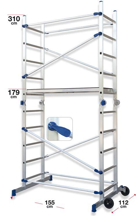 echafaudage pour escalier modulable