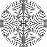 Coloring Pattern Pages Mandala sketch template