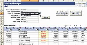 vertex42 invoice assistant invoice manager for excel With create invoice using excel