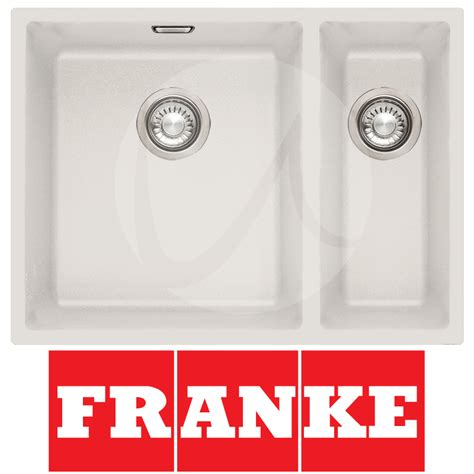 franke sirius 1 5 bowl granite polar white undermount