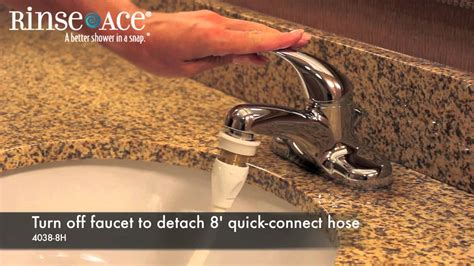 rinse ace sink faucet rinser commercial hotel faucet aerator cleaning faucet hose by