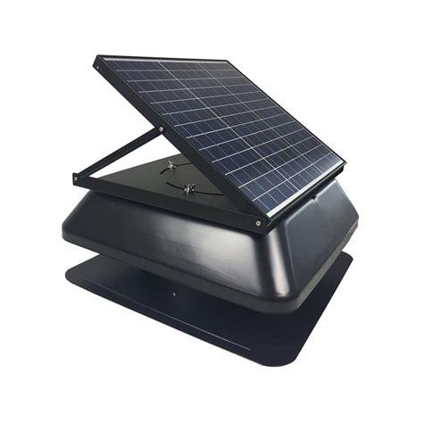 solar powered adjustable attic fan