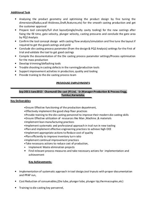 updated resume 31 may 15