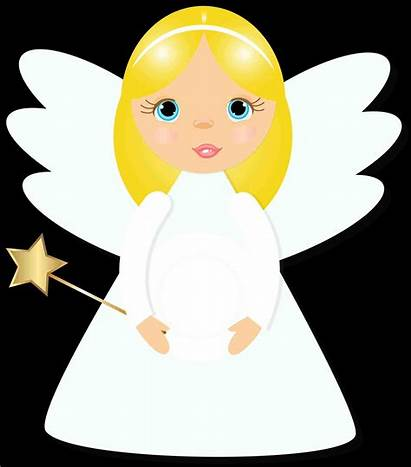 Angels Angel Clipart Nativity Singing Christmas Clip
