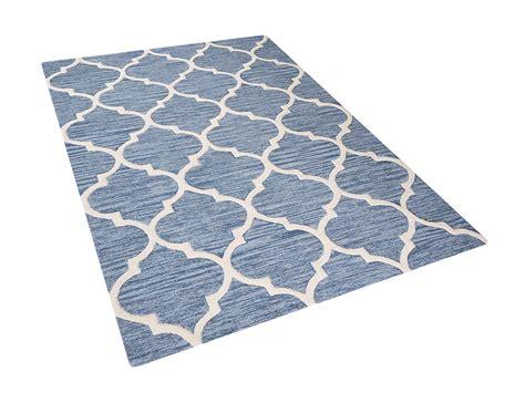 teppich l 228 ufer wolle teppich hellblau l ufer vorlage rechteckig schlafzimmer wolle baumwolle