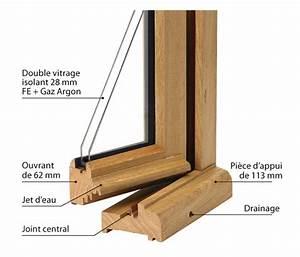 Joint Isolation Pour Fenetre Bois : fenetre en bois de la gamme manoir ouv o menuiserie ~ Premium-room.com Idées de Décoration