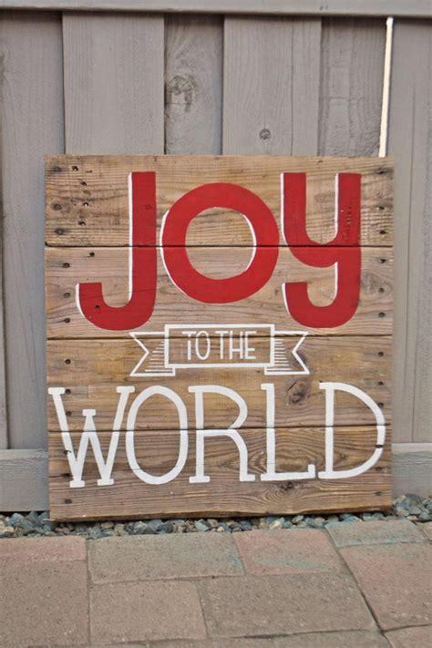 cool christmas joy sign ideas tutorials hative