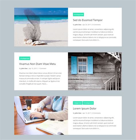 Divi Blog Extras Layout Plugin For Creating
