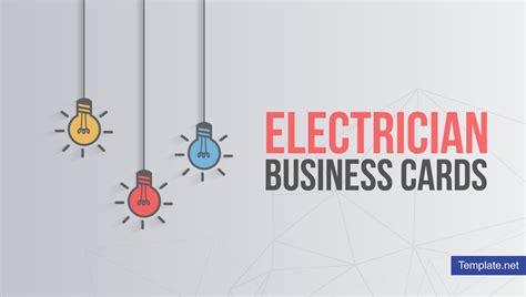 electrician business card designs templates psd