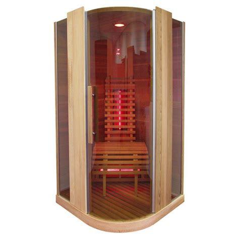 infrarotkabine 1 person infrarotkabine infrarot w 228 rmekabine infrarotsauna sauna 100 x 100 i hemlock holz