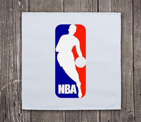 nba basketball logo embroidery design