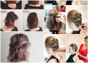 Hochsteckfrisurenen Zum Selber Machen Kurze Haare by Schöne Frisuren Für Kurze Haare Zum Selber Machen Bob Frisuren