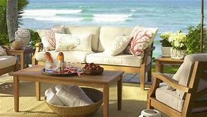 choose outdoor furniture for your home pottery barn With best time to buy pottery barn furniture