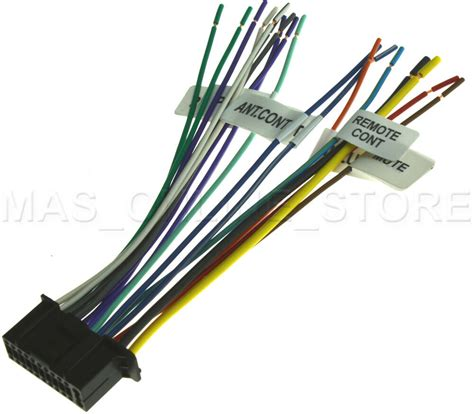 Pin Wire Harness For Kenwood Ddx Kvt