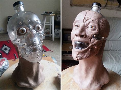 Forensic Artist Reconstructs Face From Skull Shaped