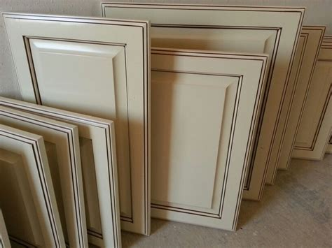 antique white glazed cabinet doors antique white