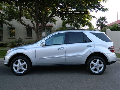 Excellent Mercedes Benz 2008 Ml  350 4  Matic Suv