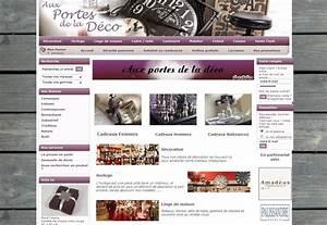 Aux Portes De La Deco : ouverture du site aux portes de la deco d co pas cher ~ Nature-et-papiers.com Idées de Décoration