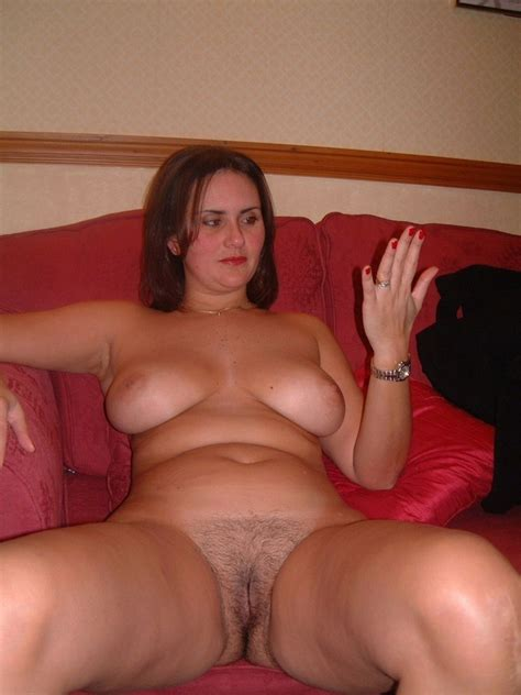Cute Milf Posing Naked Hairy Pussy Original Picture
