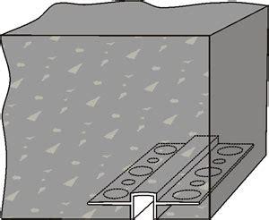 drip edge  concrete plastic components