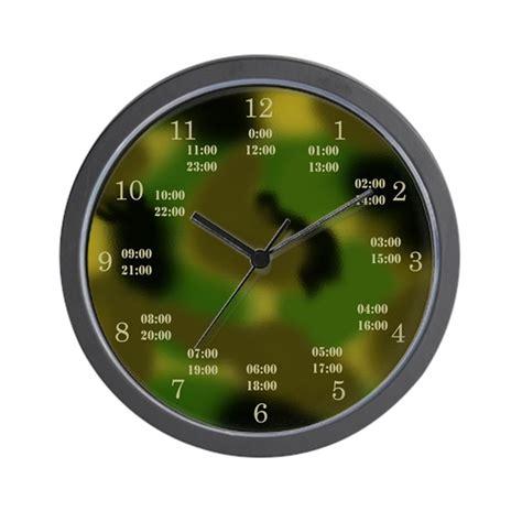 military time camo clock  baddogz