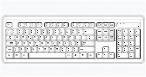 Standard Keyboard Layout