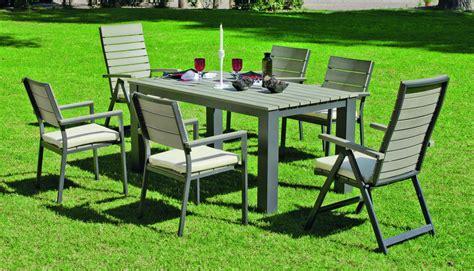 table et chaise jardin pas cher awesome table de jardin ronde chez leclerc photos