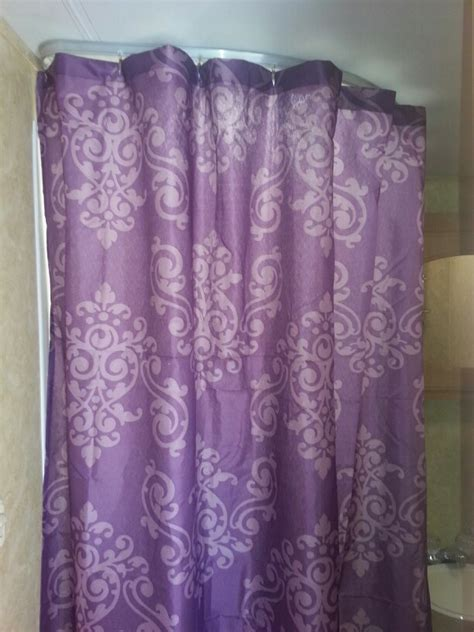 family dollar curtains 6 shower curtain from family dollar and it s purple