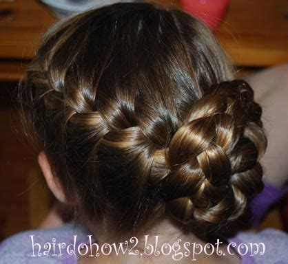 hairdo how to rounded french braid with side braid bun
