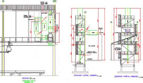 installation ventilation duct dwg block  autocad