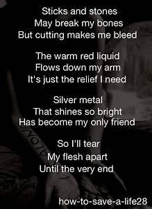 Tumblr Cutting Poems