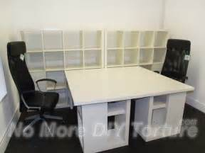 ikea office desk vika markus chair expedit shelving unit