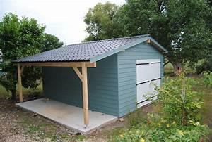 Abri De Jardin Ouvert : abri de jardin maison bois 27 ~ Premium-room.com Idées de Décoration