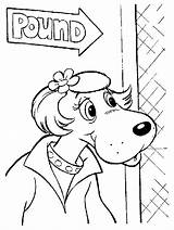 Pound Puppies Coloring Pages Puppy Print Cartoon Tv Sheets Colouring Printables Colorful Pintura Printable Toys sketch template