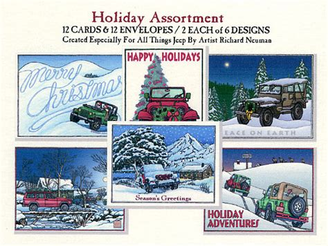 christmas jeep card jeep christmas cards in august