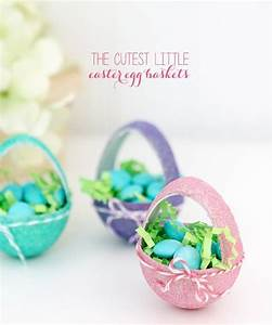 itty bitty paper mache easter baskets damask love With paper mache wedding invitations