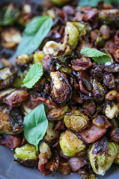 air fryer bacon sprouts brussels recipes paleomg