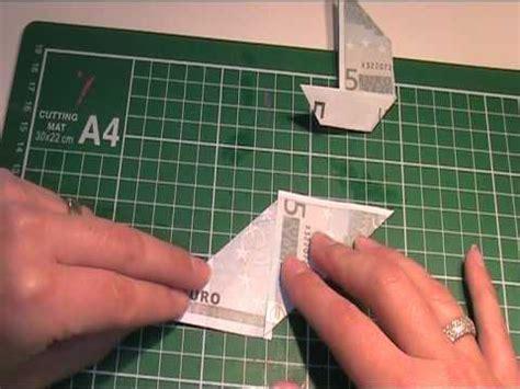 anleitung origami geldscheine falten seegelyacht youtube