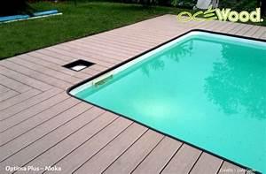 homeliving composite bord de la piscine bois images With bord de piscine en bois