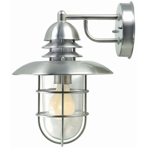 outdoor ls home depot illumine 1 light outdoor stainless steel wall l cli
