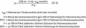 Titration äquivalenzpunkt Berechnen : prof blumes medienangebot ionenaustauscher ~ Themetempest.com Abrechnung