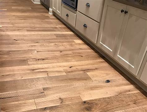 kitchen floor installation organic 567 engineered chai white oak living room with 1641