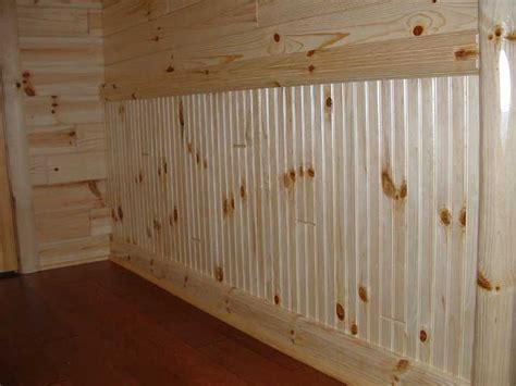 How To Hang Wainscoting Panels by Cabin Wainscoting Ideas Cabinet In Artificial Barn Board