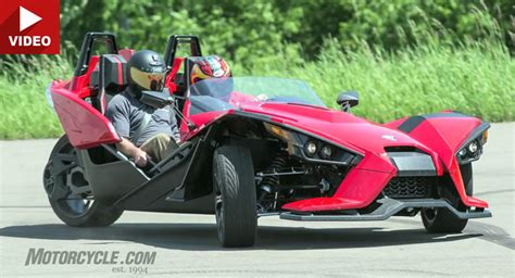 Motorcycle Reviewers Try Out 2015 Polaris Slingshot Three