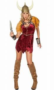 Costume viking pour femme