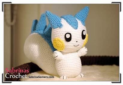 Pokemon Pattern Pachirisu Amigurumi Crochet Sabrina Patterns