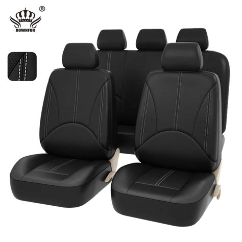 housse siege polo car seat covers pu leather material made by the car