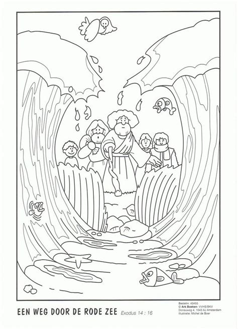 craft moses pillar of cloud and fire sketch coloring page